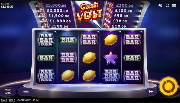 Cash Volt Gameplay