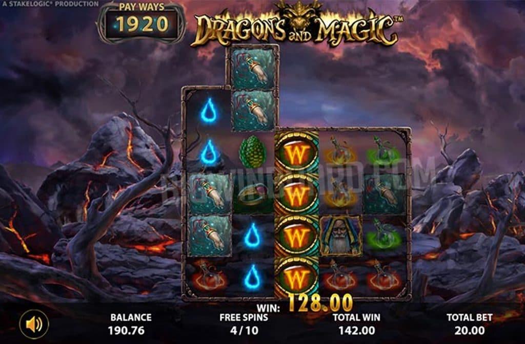 Deze perfect uitgewerkte gokkast is ontwikkeld door spelprovider Stakelogic