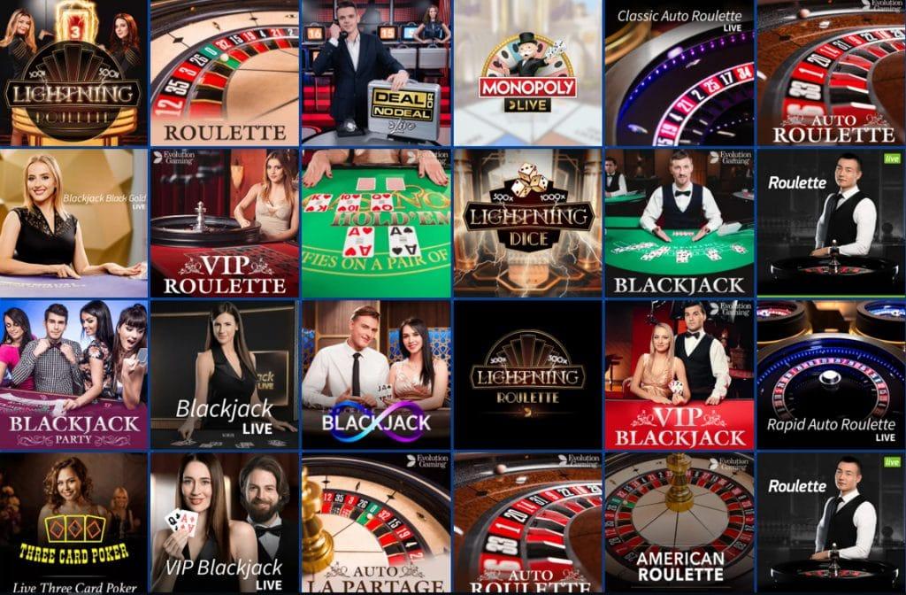 Het is zeker de moeite waard om een kijkje te nemen bij het live casino van EUslot Casino