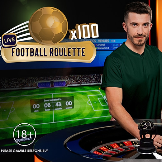 Football Roulette van Playtech