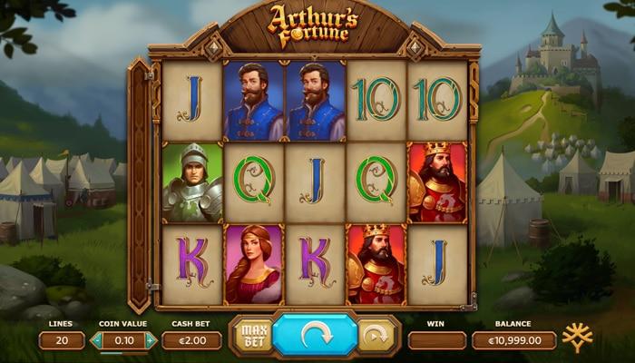 Gameplay Arthur's Fortune