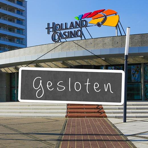 Holland Casino opnieuw gesloten