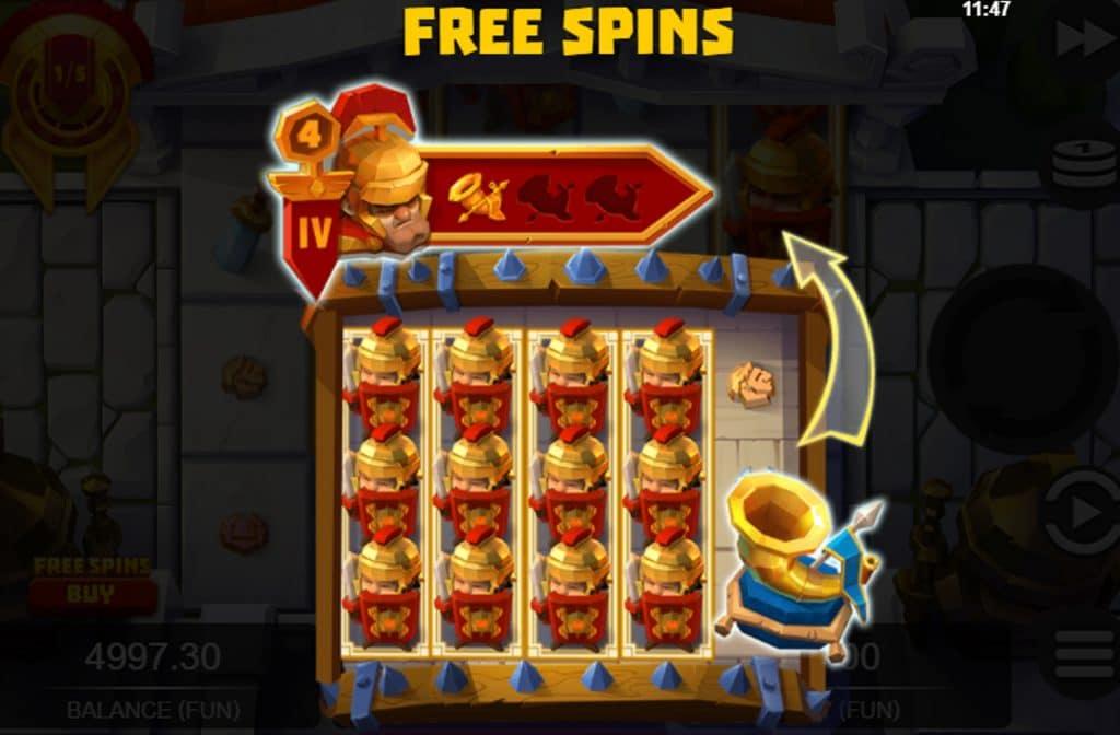 Met de Free Spins Bonus kun je de rollen van deze gokkast gratis laten draaien