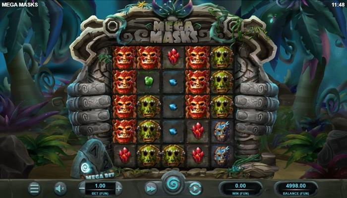 Mega Masks Gameplay