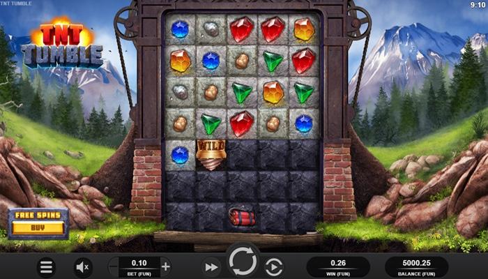 TNT Tumble Gameplay