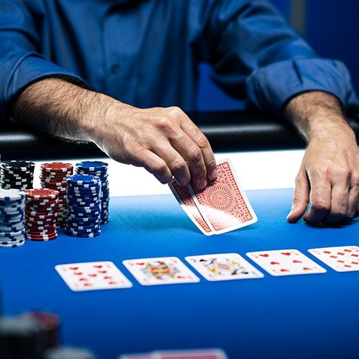Verslagen in poker