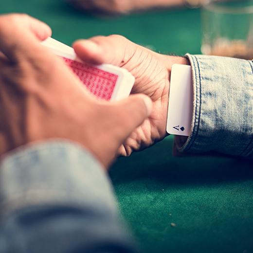 Bedrog in casino