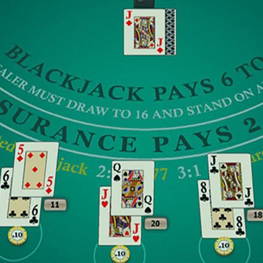 Blackjack huisvoordeel uitgelegd