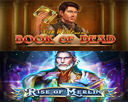 Book of Dead Rise of Merlin Mason Slots