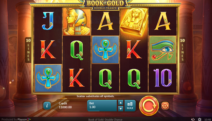 Book of Gold Double Chance Gameplay