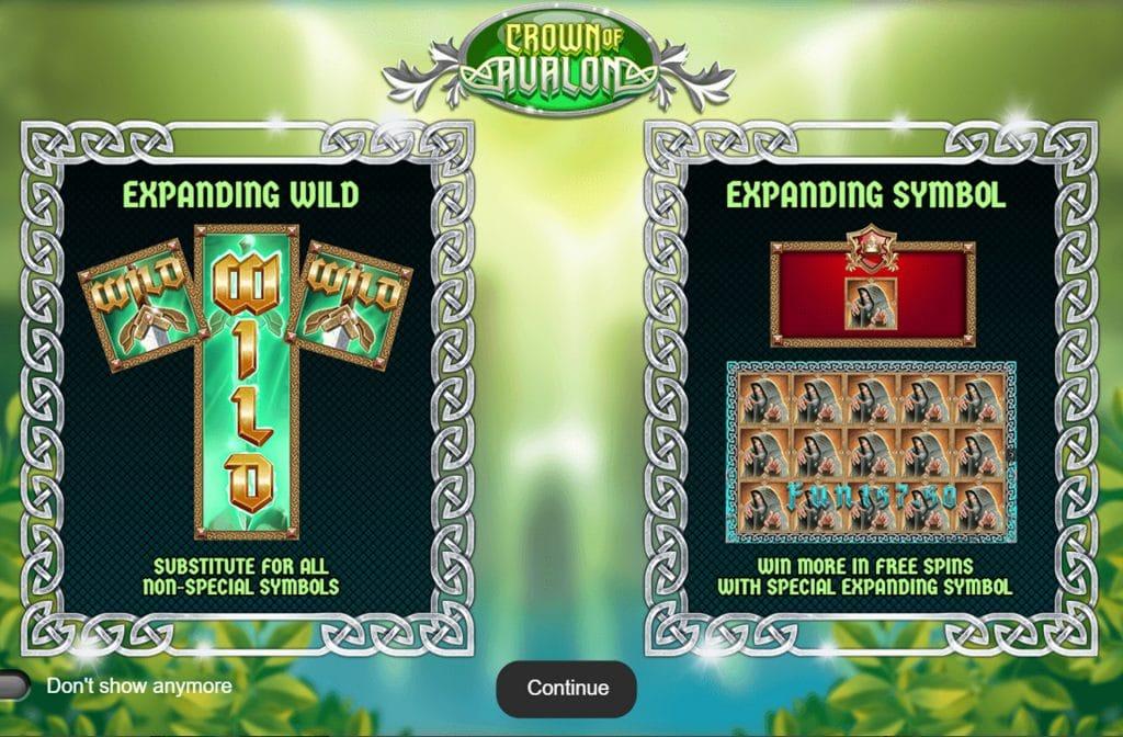 Er zijn diverse bonussymbolen toegevoegd waardoor je extra kans op winst maakt
