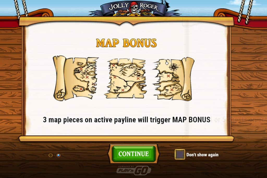 De Map Bonus is ook erg spannend
