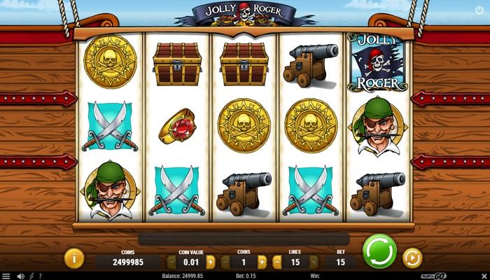 De gameplay van Jolly Roger