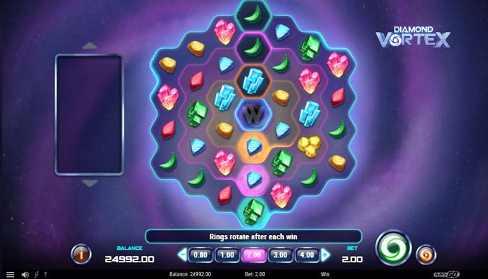 Diamond Vortex Gameplay