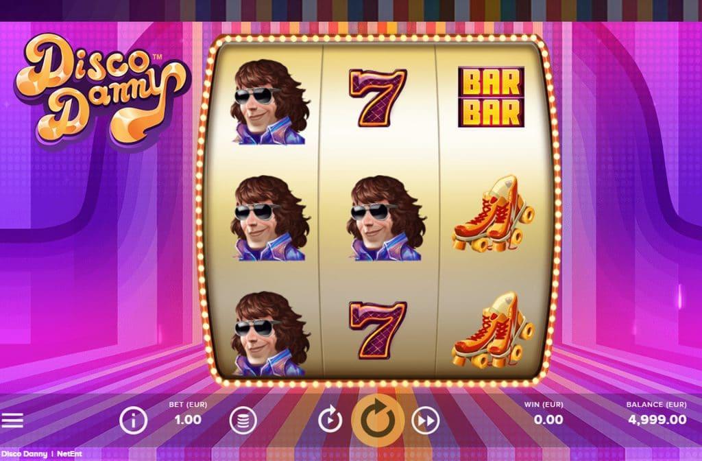 De Disco Danny gokkast is ontwikkeld door spelprovider NetEnt