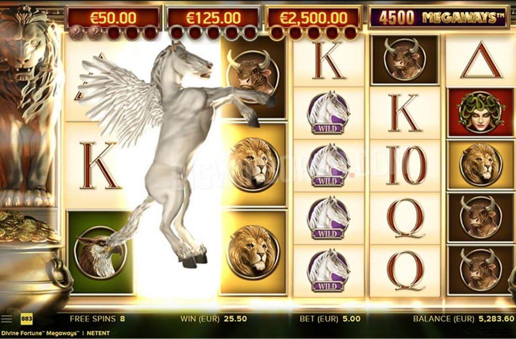 De Divine Fortune Megaways gokkast is ontwikkeld door spelprovider NetEnt