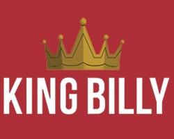 King Billy Casino Logo zijkant