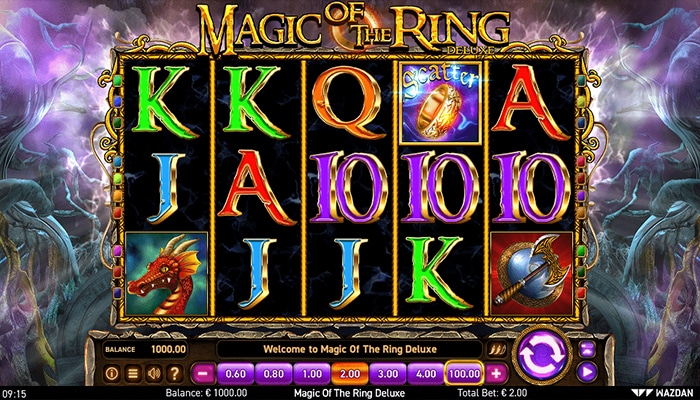 Magic of the Ring Deluxe Gameplay