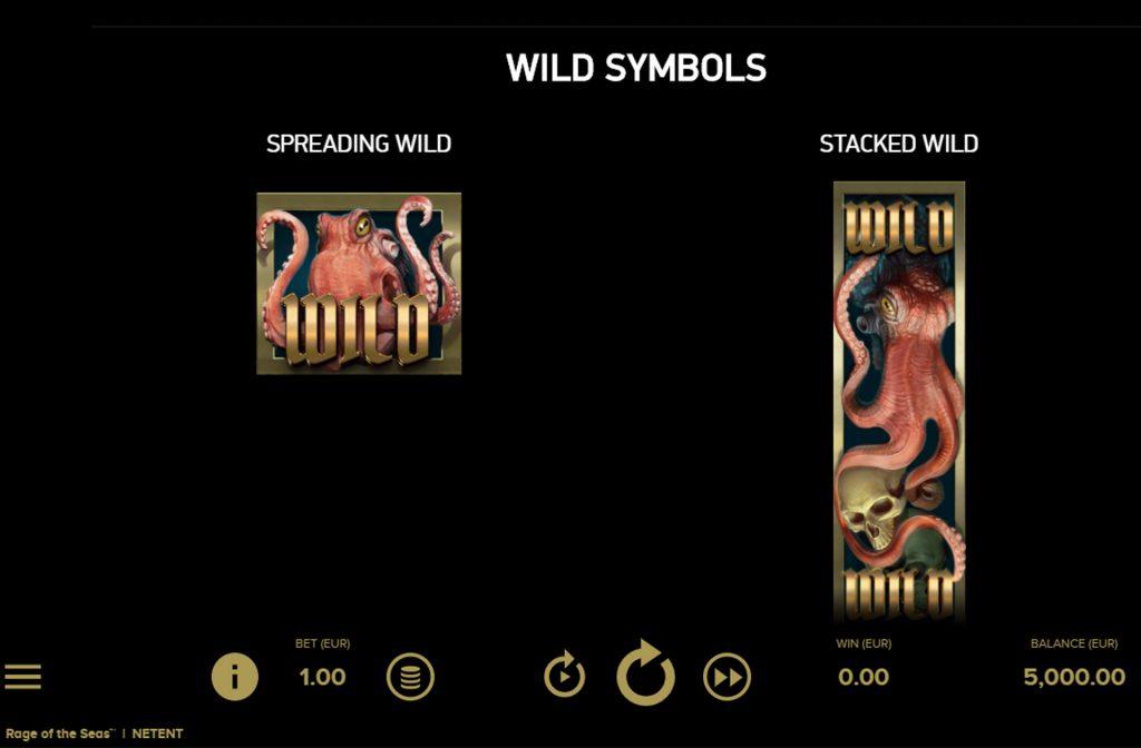 Neem gerust een kijkje in de prijzentabel om te zien wat alle symboolsoorten waard zijn