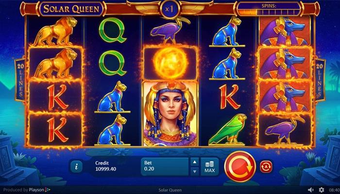 Solar Queen Gameplay