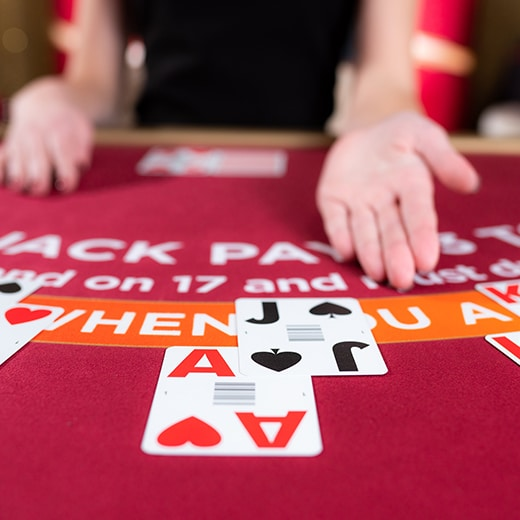 Speed Blackjack speel je zo
