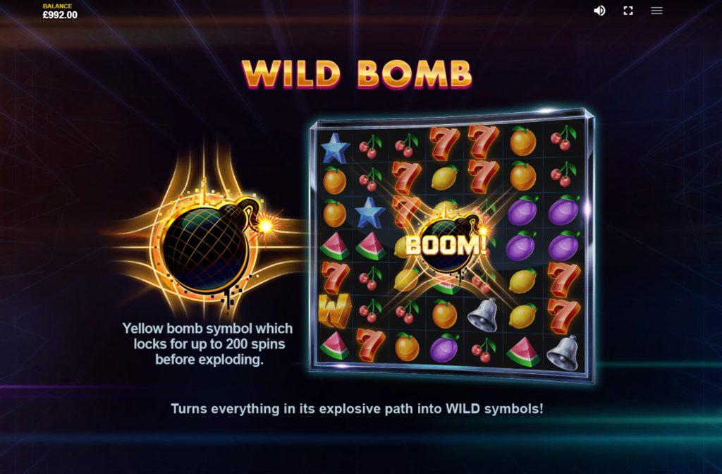 Er zijn diverse bonussen aanwezig bij Bombuster