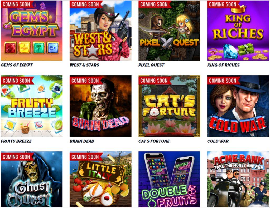 Capecad Gaming heeft mooie videoslots
