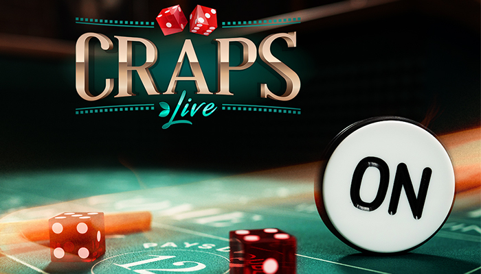 Door Craps Live kun je nu ook online live craps spelen