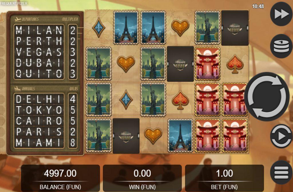 Spelprovider Relax Gaming heeft de Frequent Flyer gokkast ontwikkeld