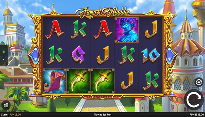 Gameplay Lamp of Aladdin