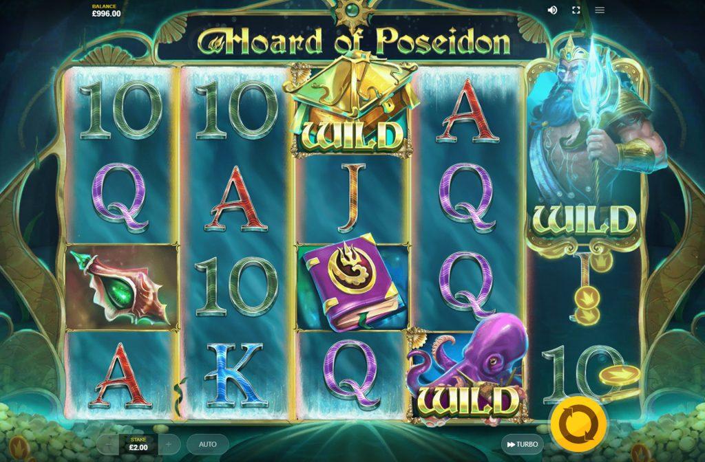 De Hoard of Poseidon gokkast is ontwikkeld door spelprovider Red Tiger Gaming