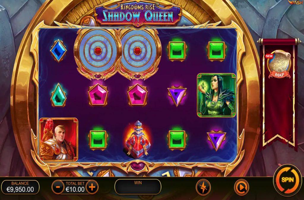 De Kingdoms Rise Shadow Queen gokkast is ontwikkeld door spelprovider Playtech