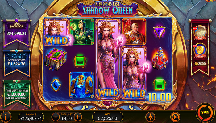 Kingdoms Rise Shadow Queen Gameplay