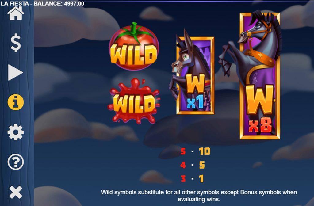 Het Wild symbool heeft een vervangende functie en kan onderbroken combinaties compleet maken