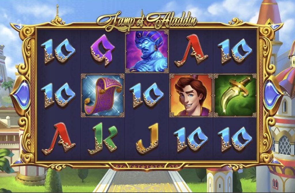 De Lamp of Aladdin gokkast is ontwikkeld door spelprovider 1X2 Gaming