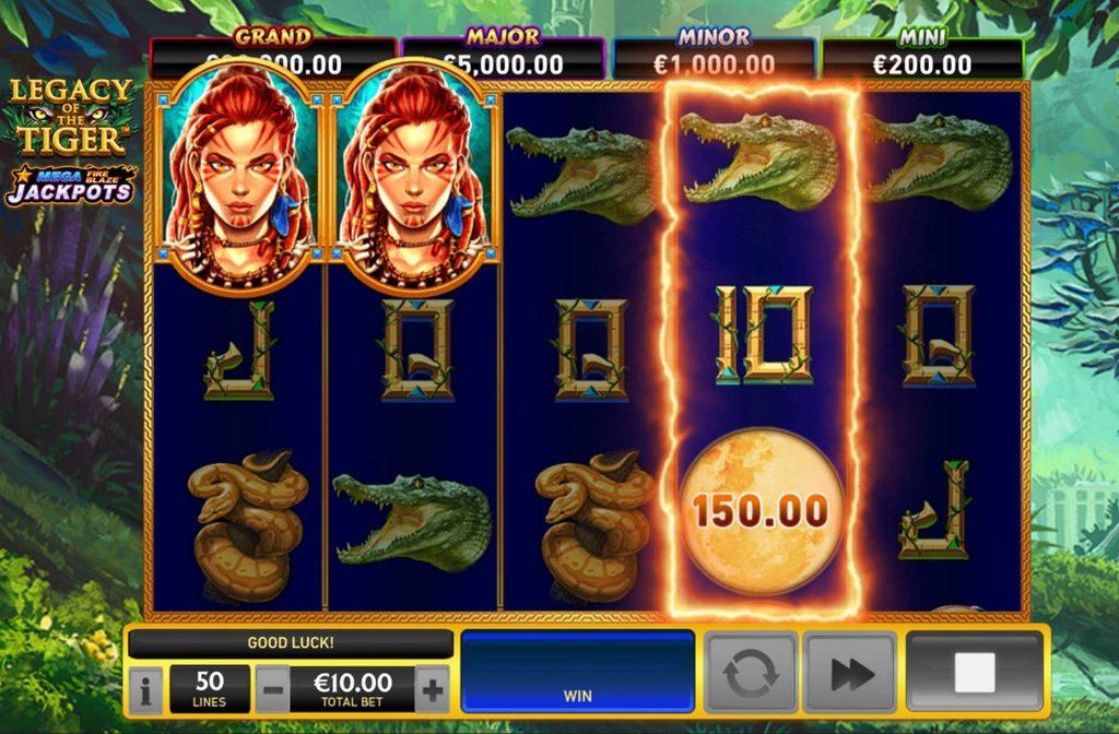 De Legacy of the Tiger gokkast is ontwikkeld door spelprovider Playtech