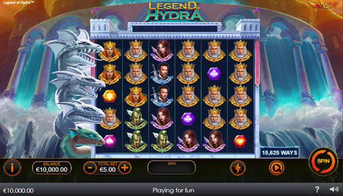 Legend of Hydra Power Zones Gameplay