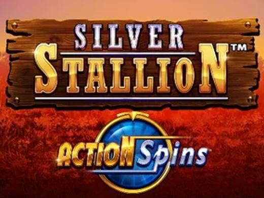 Logo Silver Stallion Action Spins