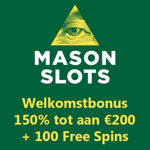 MAson Slots promotie