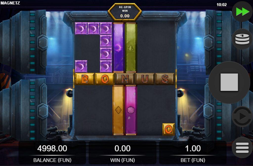 De Magnetz gokkast is ontwikkeld door spelprovider Relax Gaming