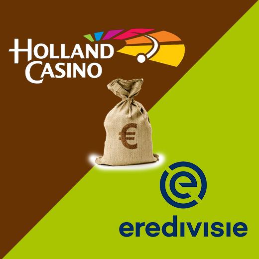 Miljoenendeal Holland Casino eredivisie