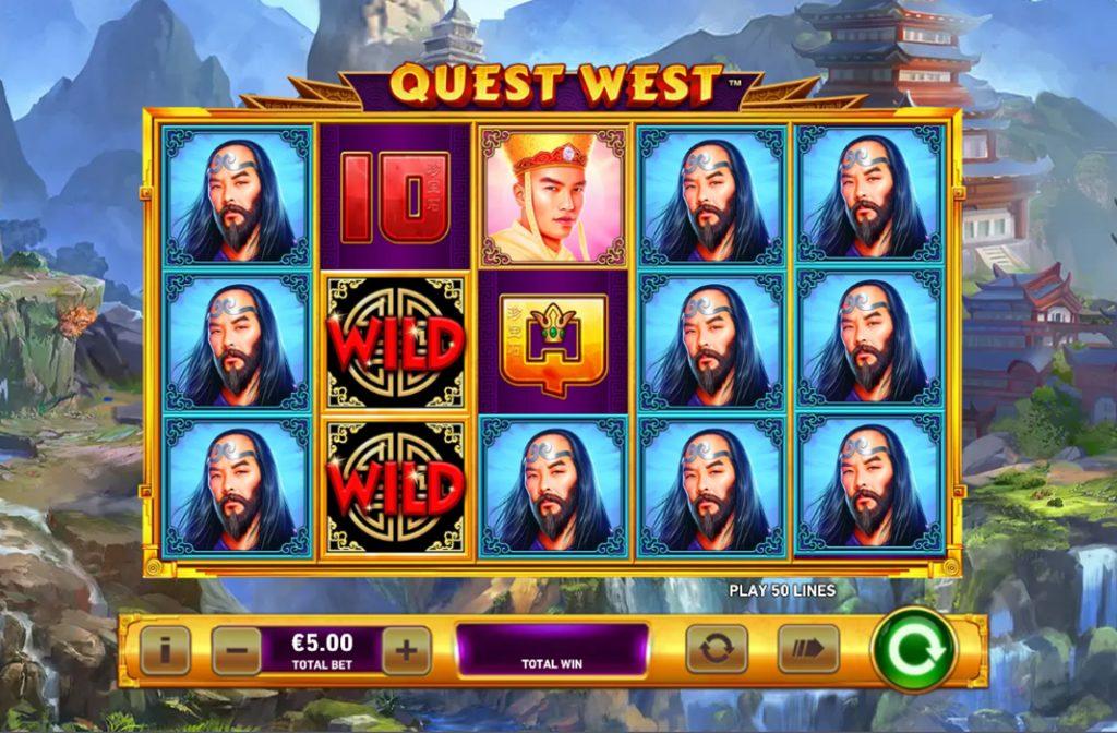 De Quest West gokkast is ontwikkeld door spelprovider Playtech
