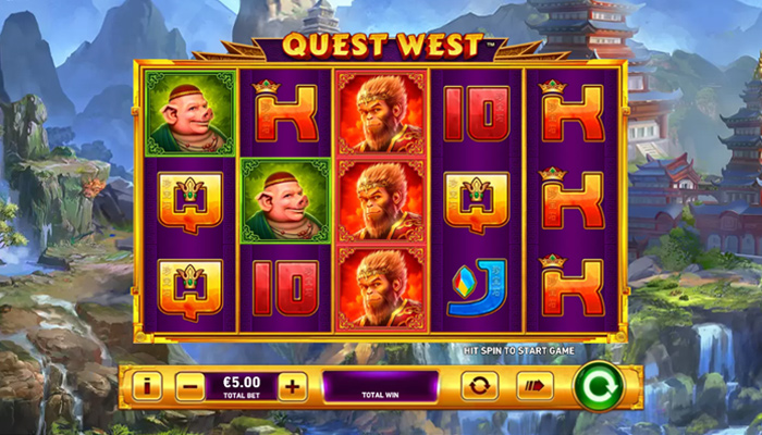 Quest West Gameplay