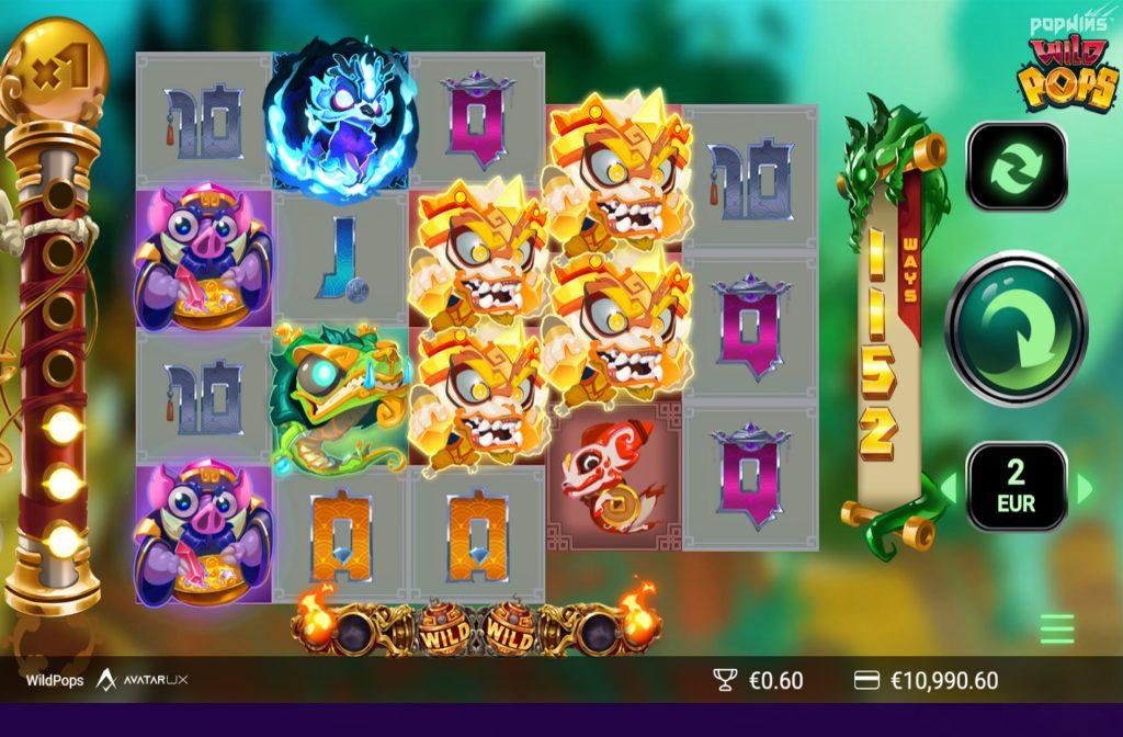 De WildPops gokkast is ontwikkeld door spelprovider Yggdrasil