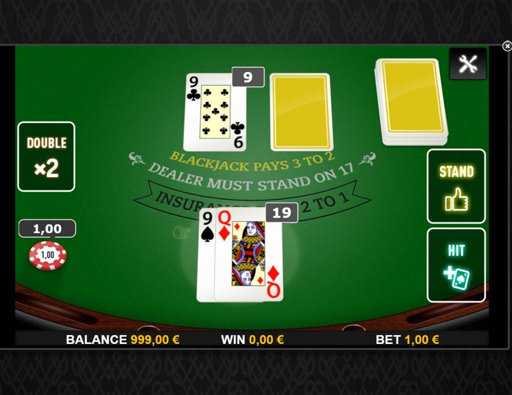 Ze maken ook Blackjack spellen