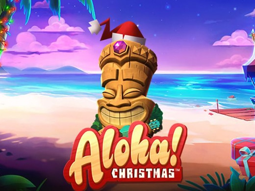 Aloha Christmas Netent gokkast1