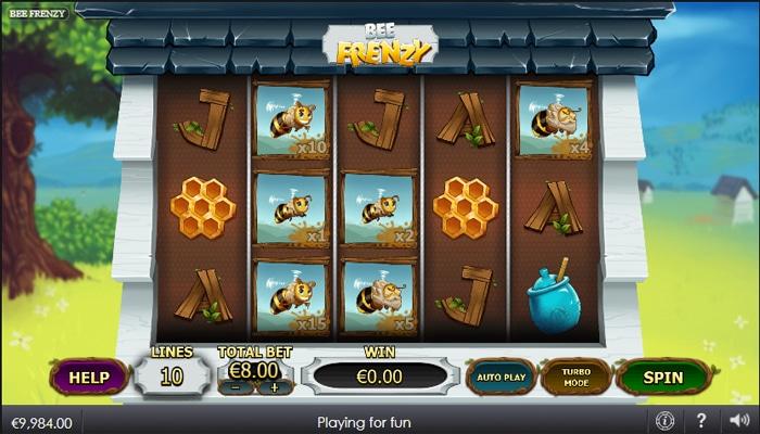 Bee Frenzy Gameplay