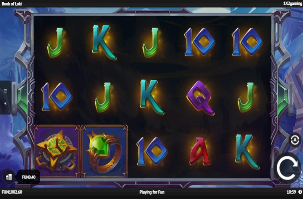 De Book of Loki gokkast is ontwikkeld door spelprovider 1x2 Gaming