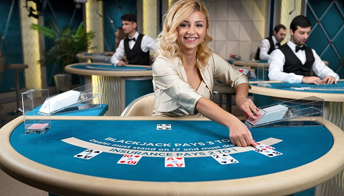 Live Blackjack heeft top live dealers