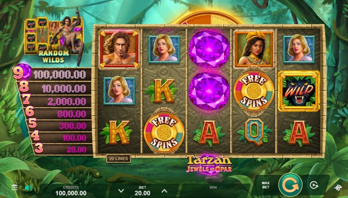 Tarzan and the Jewels of Opar Gameplay